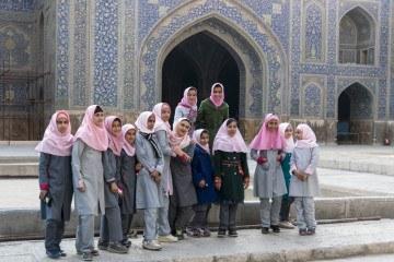 people of isfahan schoolgirls