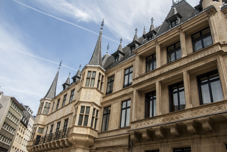 luxembourg castles grand ducal palace