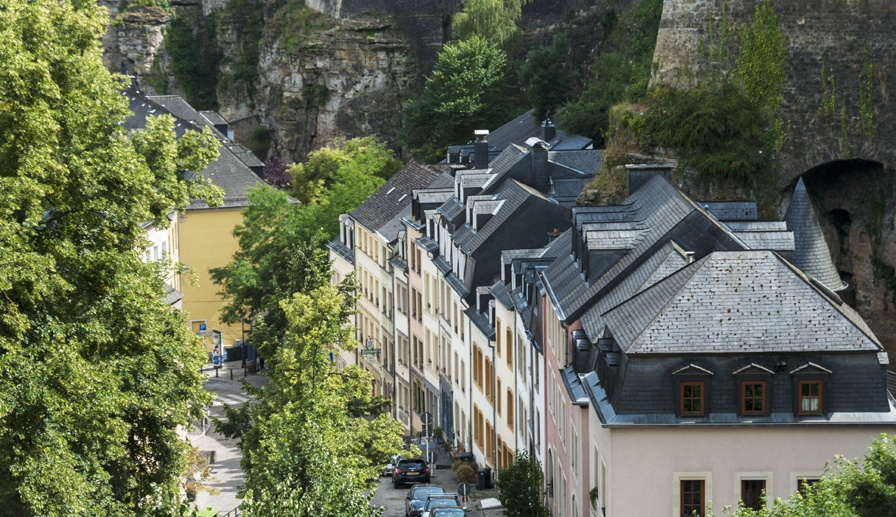 old luxembourg city view