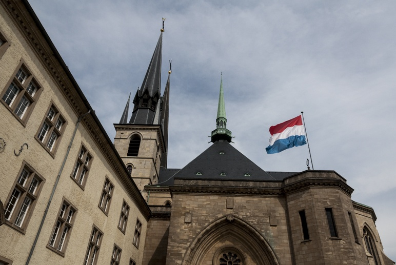 luxembourg city church