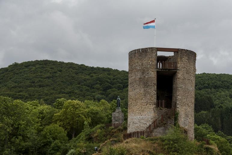 esch sur sure castle tower