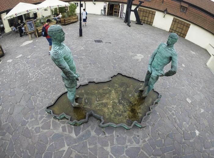 david cerny czech republic kafka museum