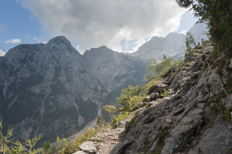 hiking slovenia path