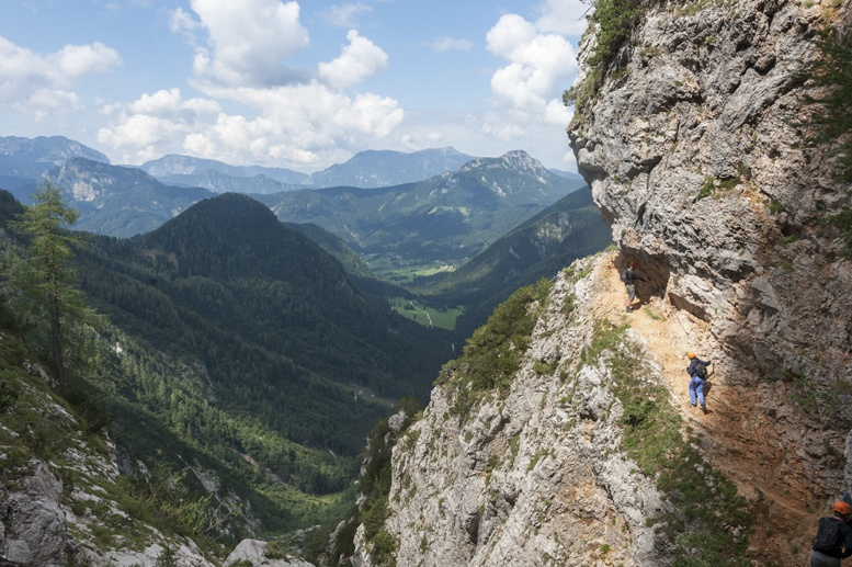 hiking slovenia via ferrata