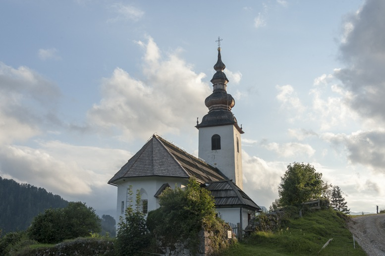 sveti oswald church jezersko
