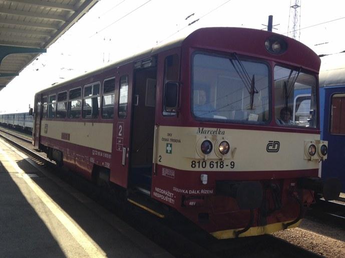 interrail ticket small czech train