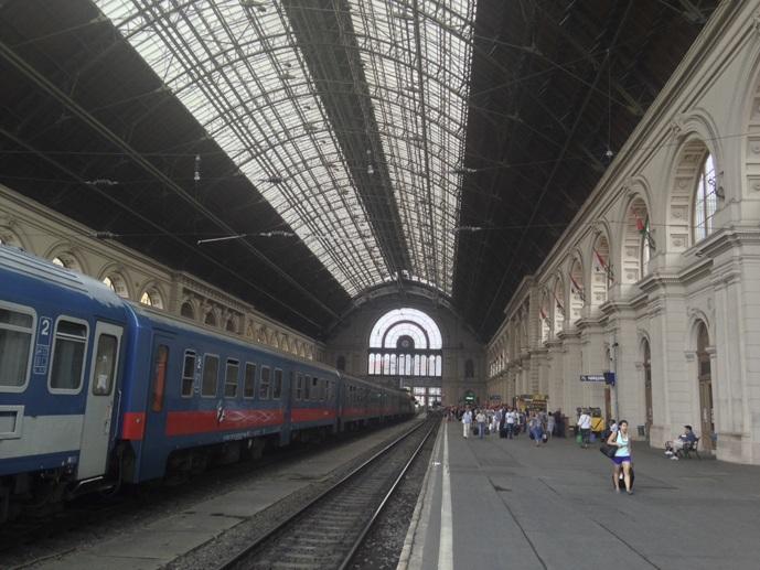 eurail pass budapest