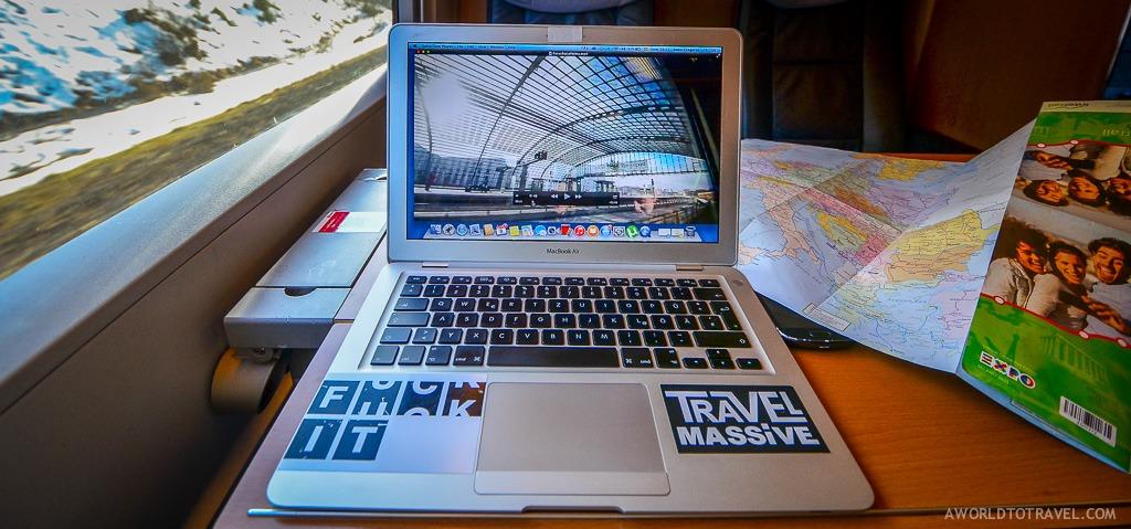 Interrail Eurail Europe working train