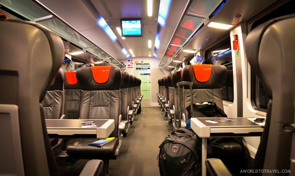 Interrail Eurail Europe austria