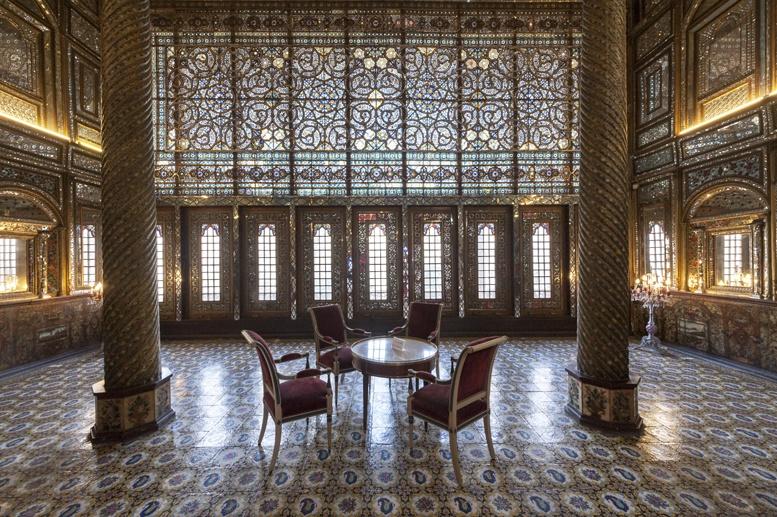 tehran golestan palace inside 2
