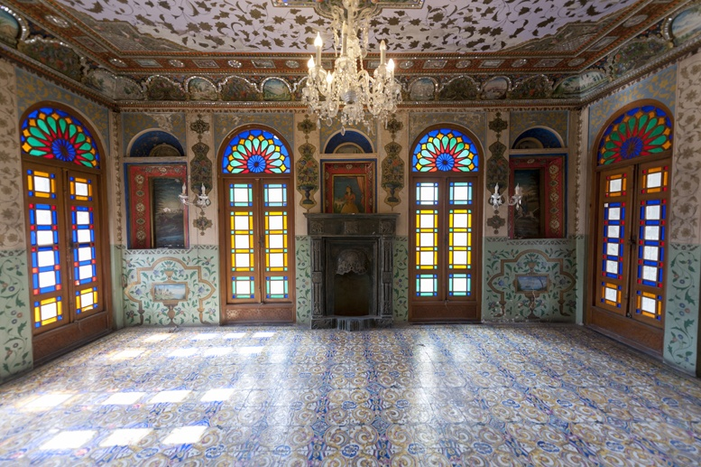 tehran golestan palace inside