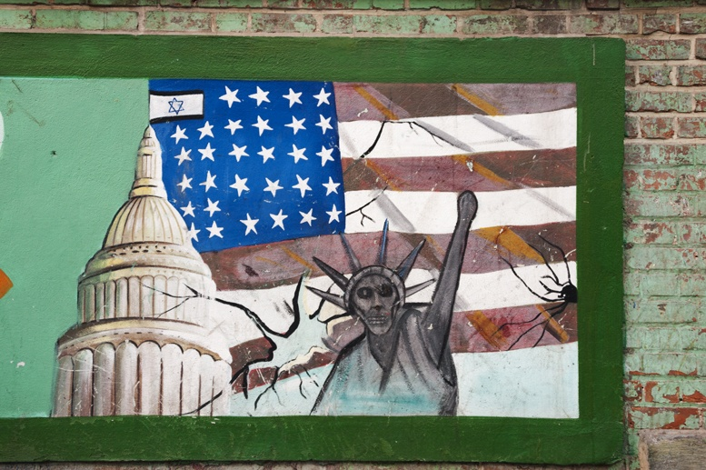 things to see in iran anti american graffiti 2