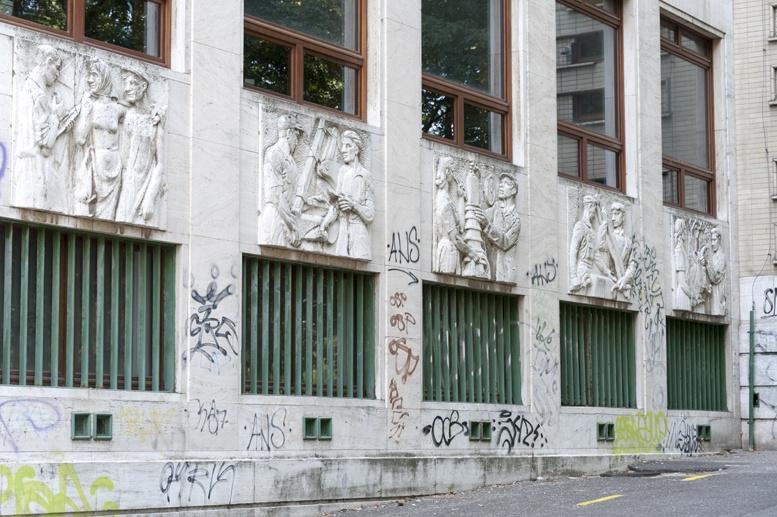 technical university communist carvings