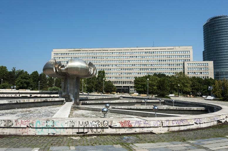 namestie slobody fountain bratislava