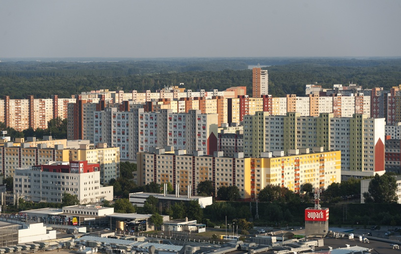 bratislava communist architecture petrzalka
