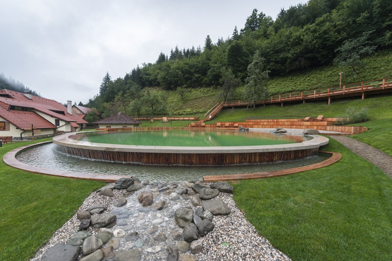 glamping in slovenia swimming pool