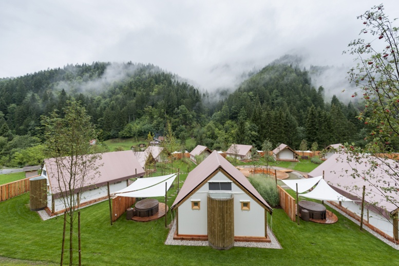 glamping charming slovenia