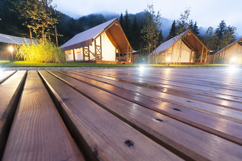 charming glamping in slovenia tents