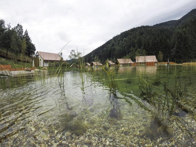charming slovenia pool