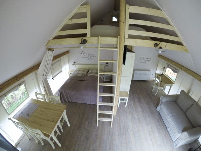 charming slovenia tent inside