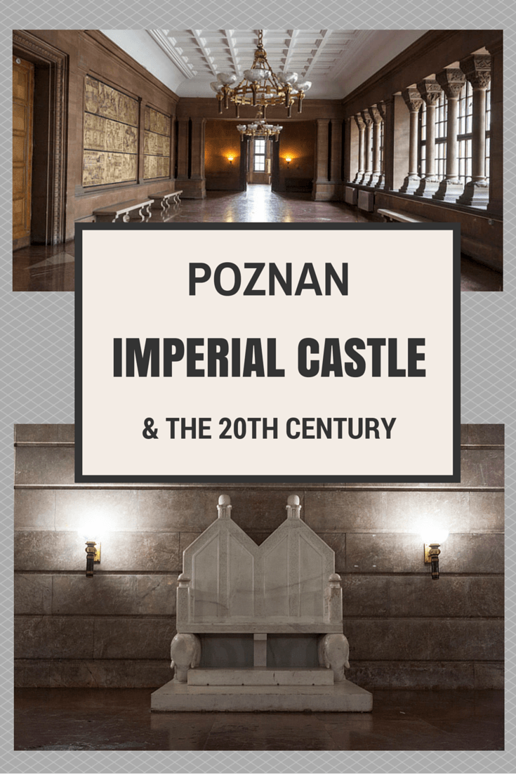 poznan castle pin