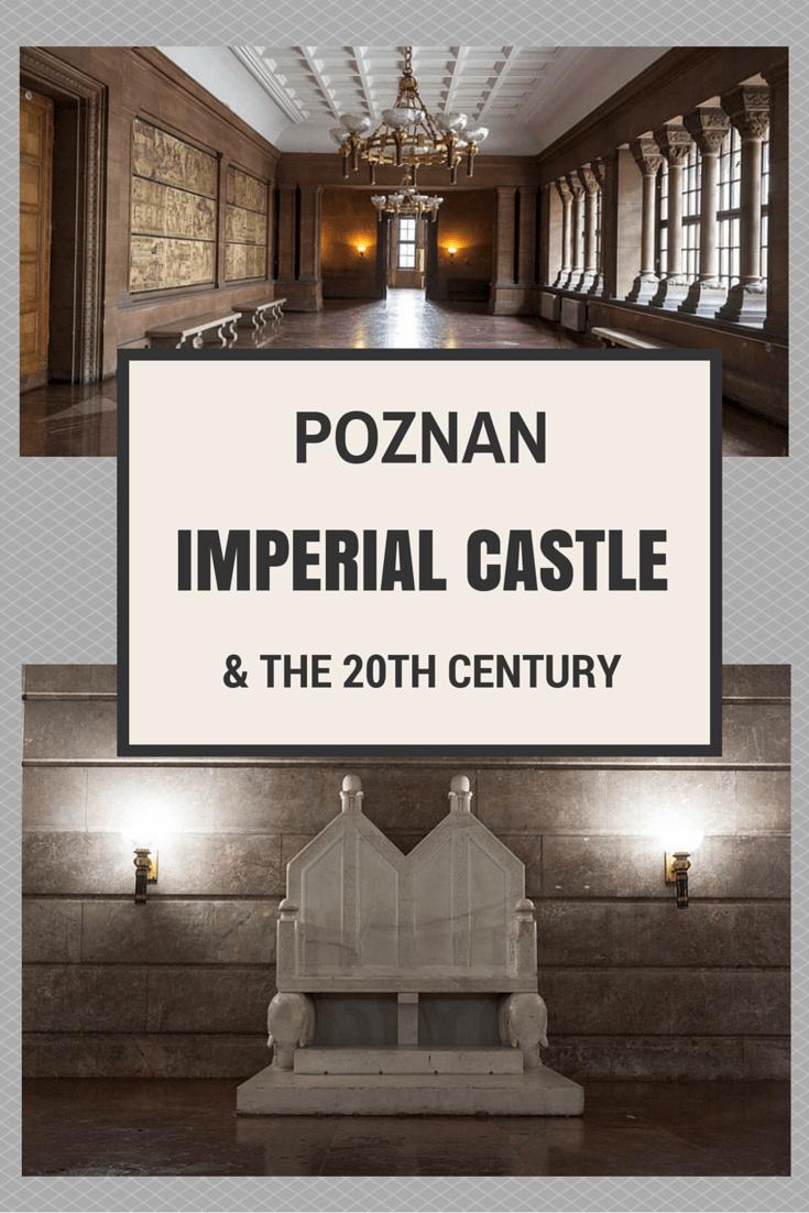 poznan castle pin