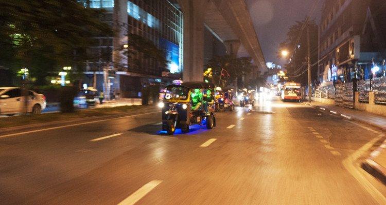 Bangkok street food Tuk Tuk Tour