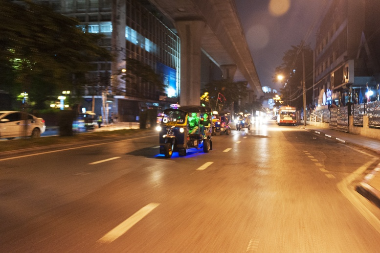 Bangkok Street Food on a Tuk Tuk - The Crowded Planet