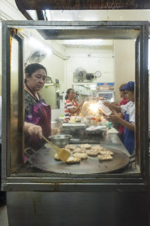 Bangkok roti mataba window