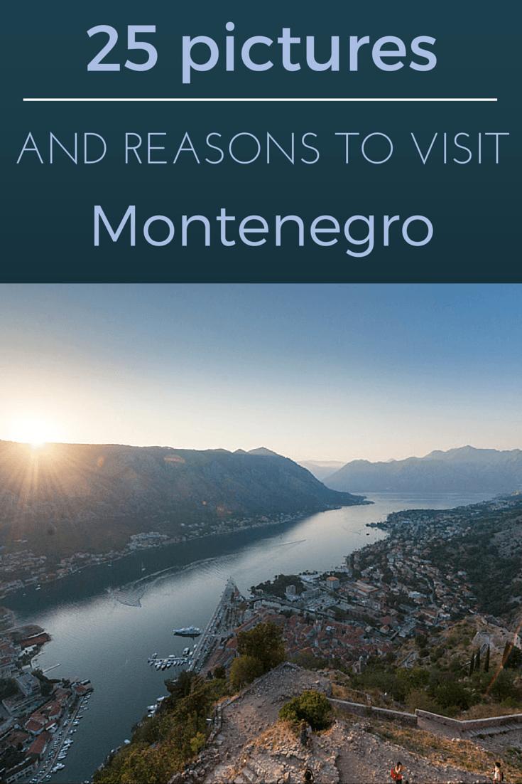 reasons to visit montenegro pin