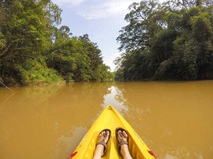 adventures in Borneo Kayaking sarawak