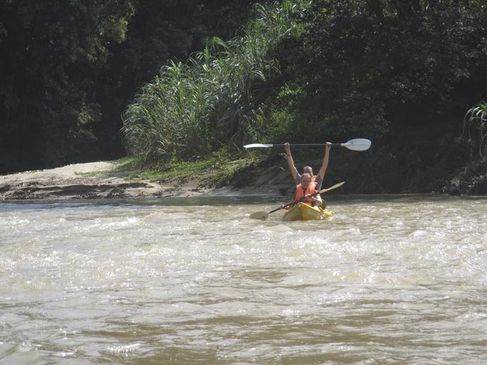 rapids kayaking sarawak