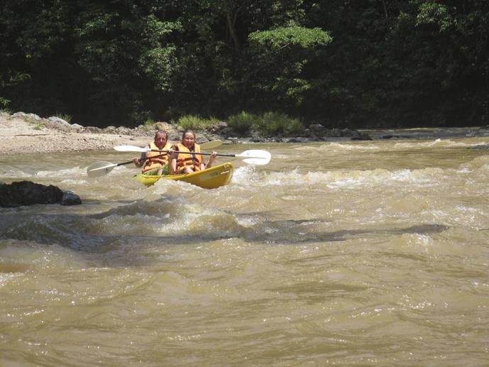 rapids kayaking sarawak 2