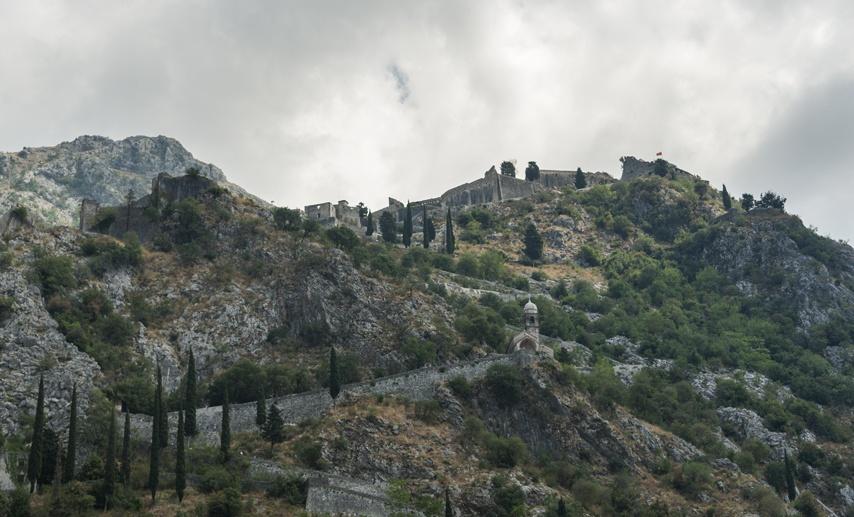 st john mountain fortress kotor montenegro