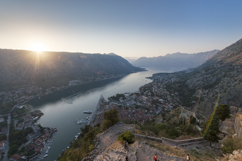reasons to visit montenegro Kotor bay sunset