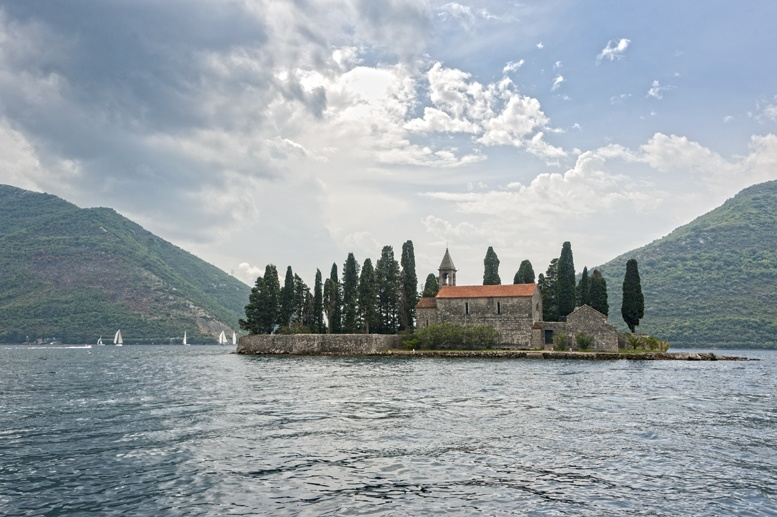 our lady of the rocks perast montenegro