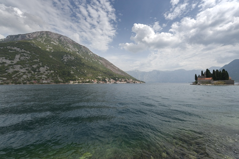our lady of the rocks and coast montenegro