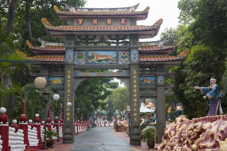 haw par villa singapore gate