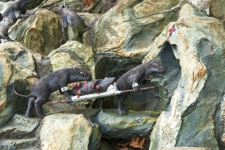 haw par villa singapore rats