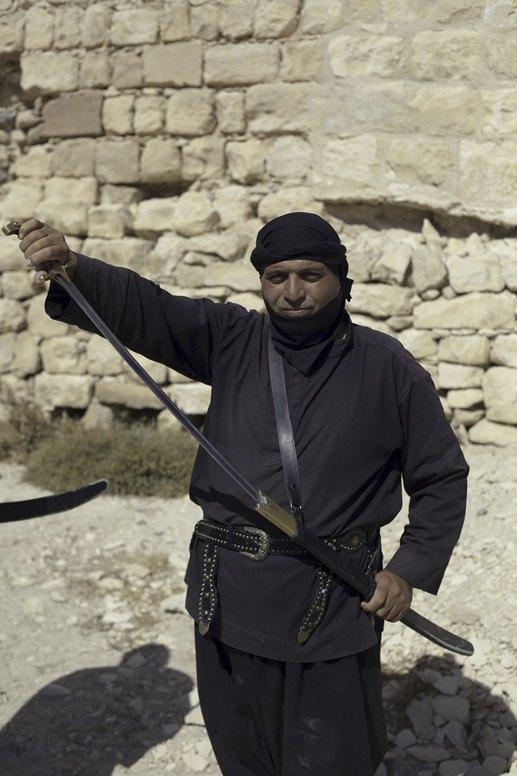 jordan bedouin sword