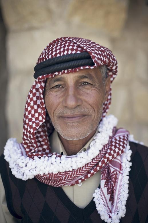 jordan bedouin portrait