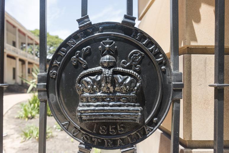 sydney mint gate