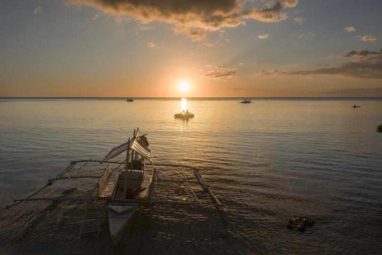 sunset bangka philippines