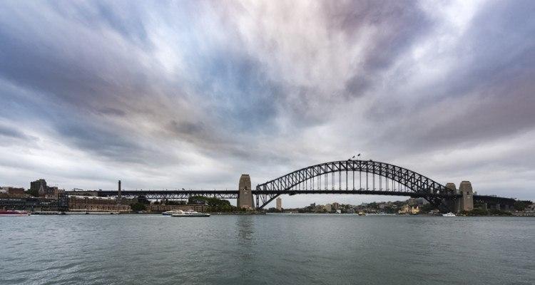 history of Australia harbour bridge