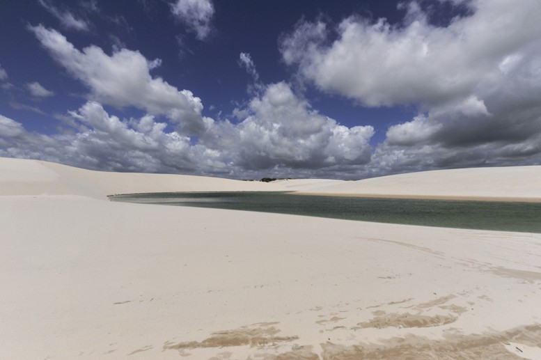 Lençois maranhenses national park clouds