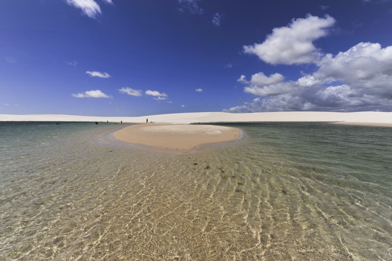 Lençois maranhenses national park water