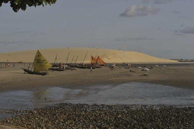 jericoacoara-boats-dune