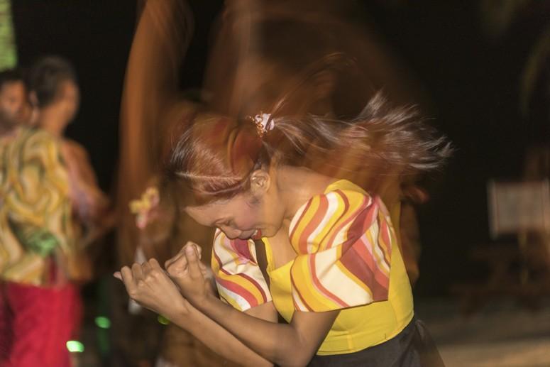 Bohol Beach club dancing