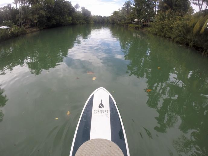 paddleboarding bohol tinggly