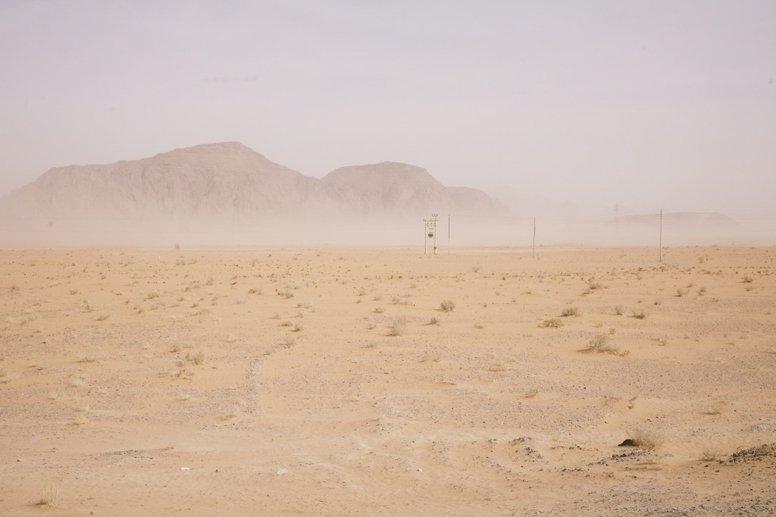 jordan hazy desert